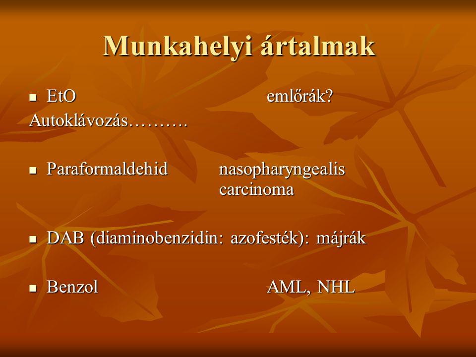 humán papillomavírus és nasopharyngealis rák)