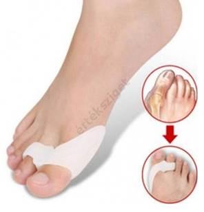 nedvesedni a lábujjak között