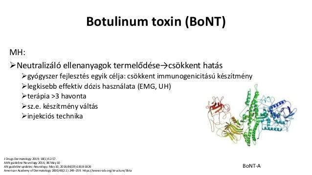 botulinum toxin patkány