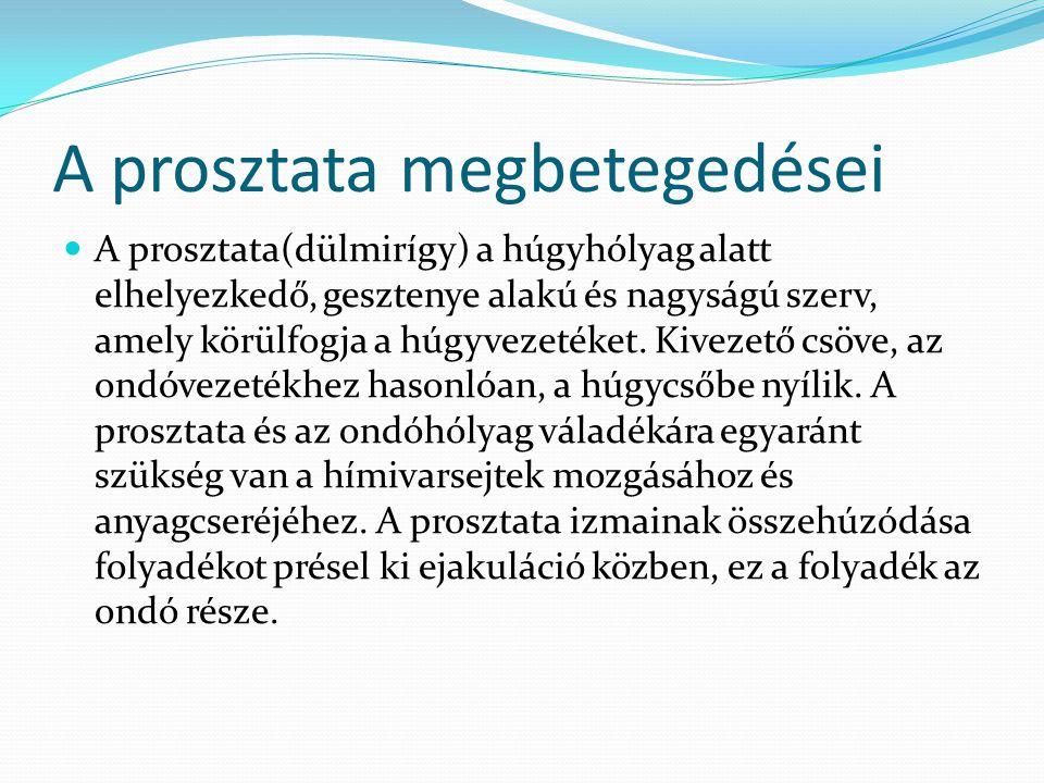 prosztatarák 2020 ppt)