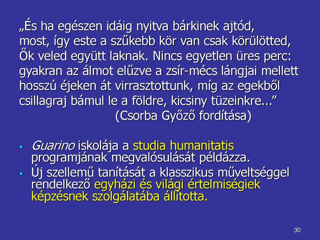 mintha humanizálták volna őket)
