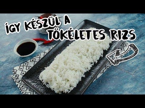 Férgek, mint a rizs az emberekben