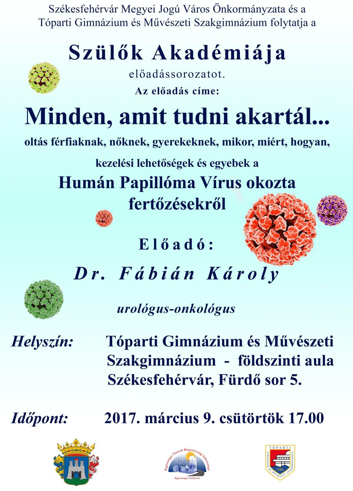 papilloma oltási vírus kockázata)