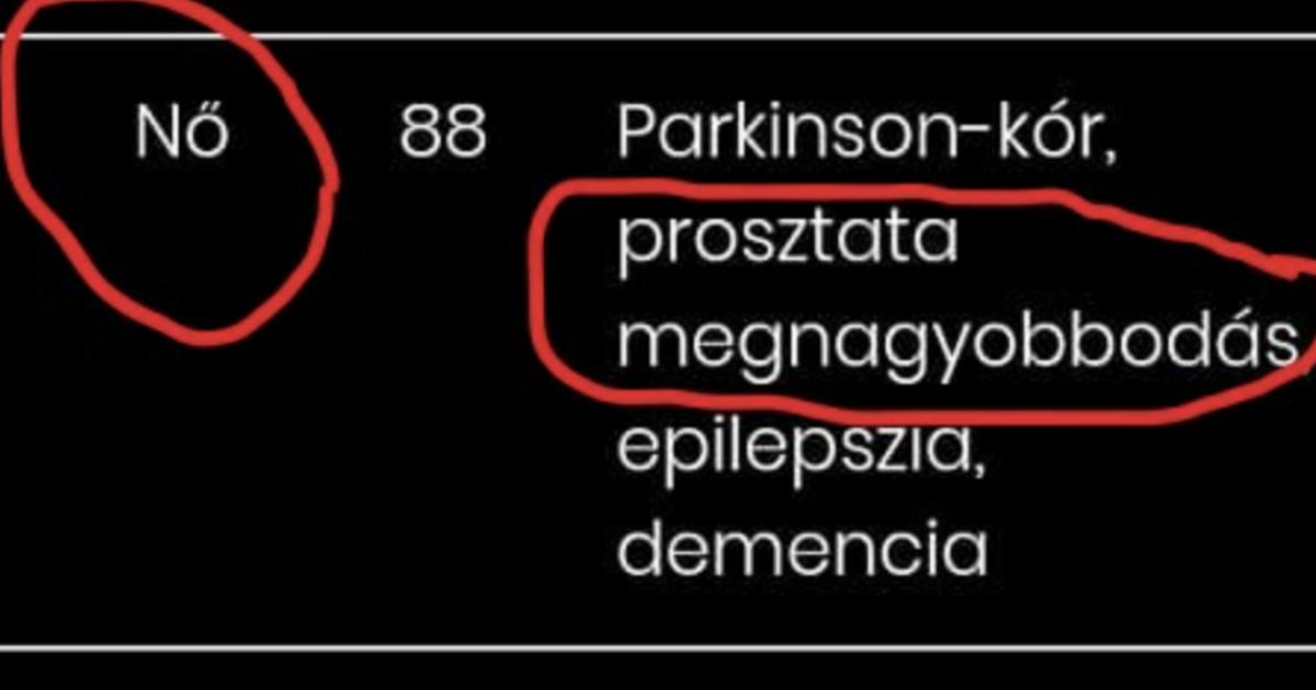 prosztatarák egészségügyi minisztérium 2020
