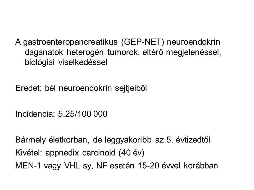 neuroendokrin vastagbélrák