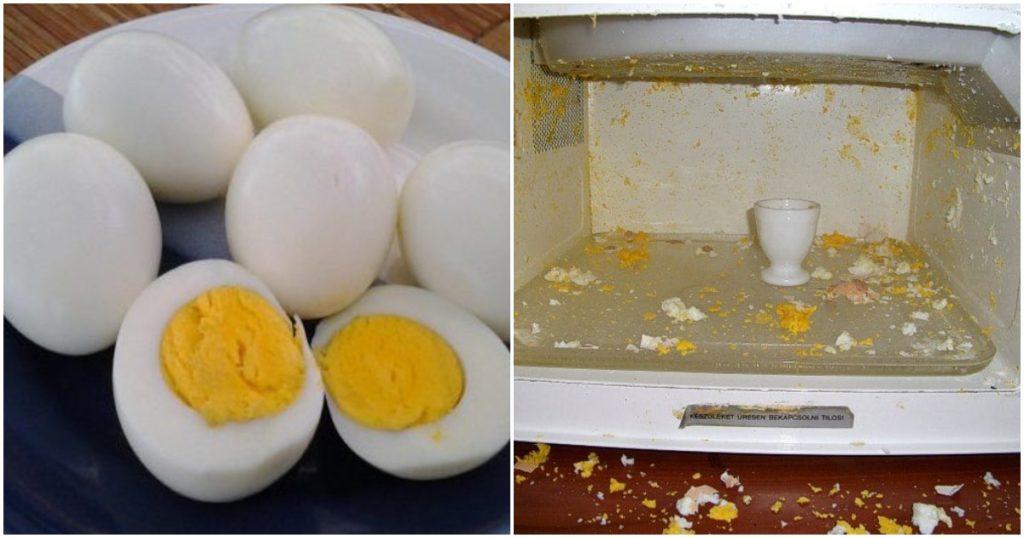 tojások a mikrohullámú sütőben hálóznak