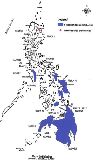 schistosomiasis philippines 2020