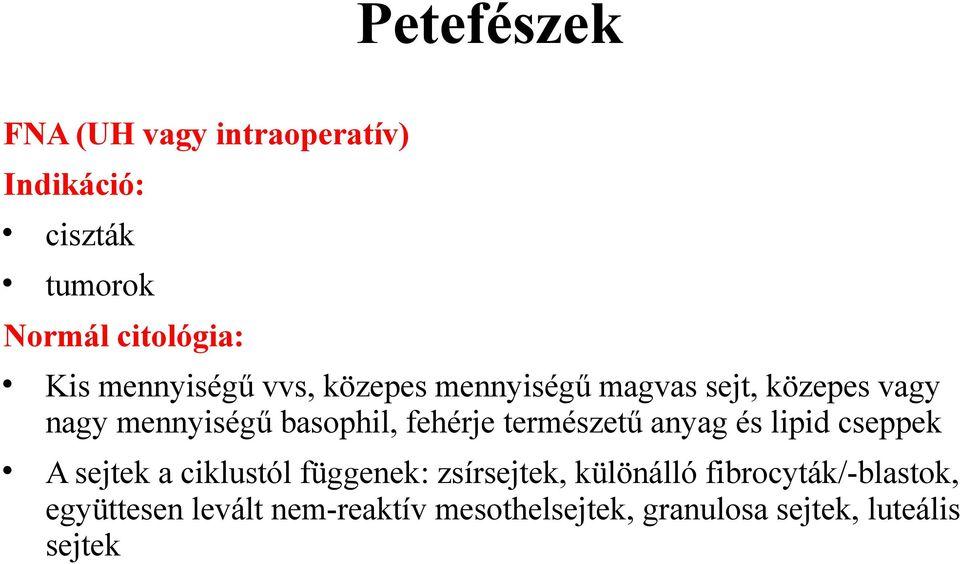 retikulált papillomatosis patológia hám petefészekrák